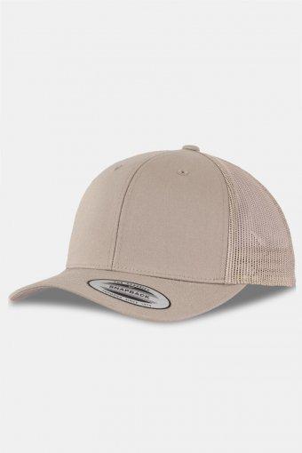 Flexifit Retro Trucker Cap Khaki