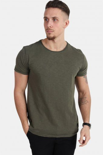 Konrad Slub S/S T-shirt Army