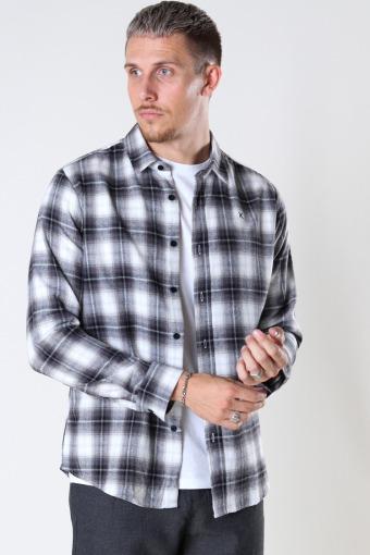 Sälen Flannel 8 L/S Grey/White Check