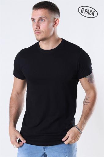 Cam T-shirt 6-Pack Black