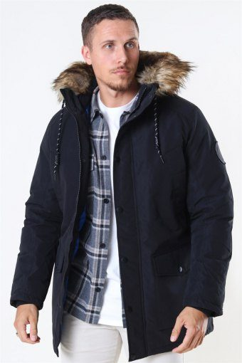 Sky Parka Jacket Black