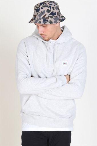 Our Shaxy Patch Hoodie Snow Melange