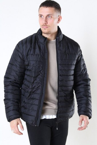 Paul Quilted Highneck Jas Black