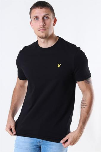 Crew Neck T-shirt Jet Black
