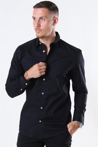 Bart Life LS Organic Overhemd Noos Black