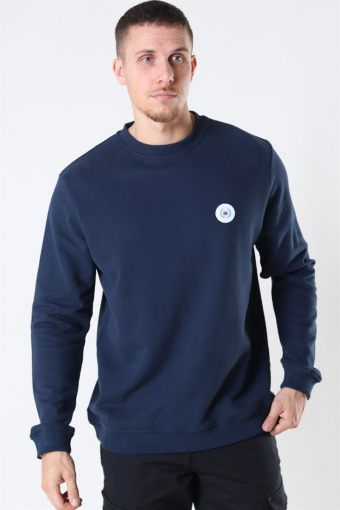 Our Braxy Patch Crew Navy