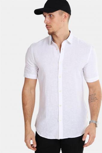 Tailored & Originals Karter S/S Overhemd Off-White