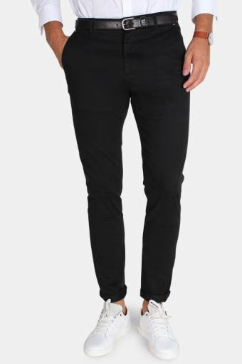 Tailored & Originals Rainford Broek Black
