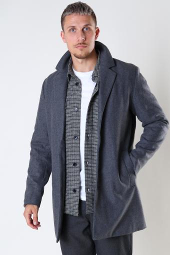 JJMARCO WOOL COAT Grey Melange