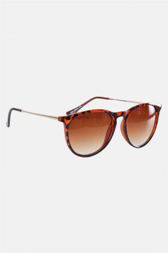 Fashion 1394 Zonnebril Brown Havana Gold Brown Gradient Lens