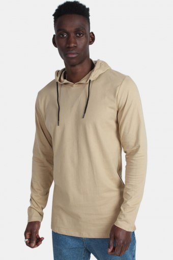 Hooded T-shirt Sand