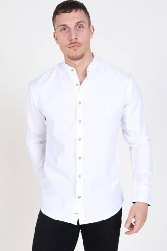 Dean Henley Overhemd White