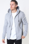 Only & Sons Ceres Life Zip Hoodie Sweat Light Grey Melange