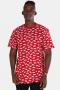 Vans Allover Distorted SS Cardinal T-shirt