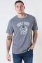 Only & Sons Onsguns And Roses Life Reg Ss Medium Grey Mel
