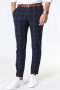 Only & Sons Mark Pants Check DT Dark Navy