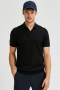 Selected SLHBERG SS POLO NECK B NOOS Black