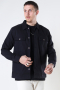 ONLY & SONS ONSILVIO LIFE LS TWILL OVERSHIRT Black