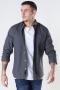 Only & Sons Onsbrok Ls Flannet Melange shirt Mgm -